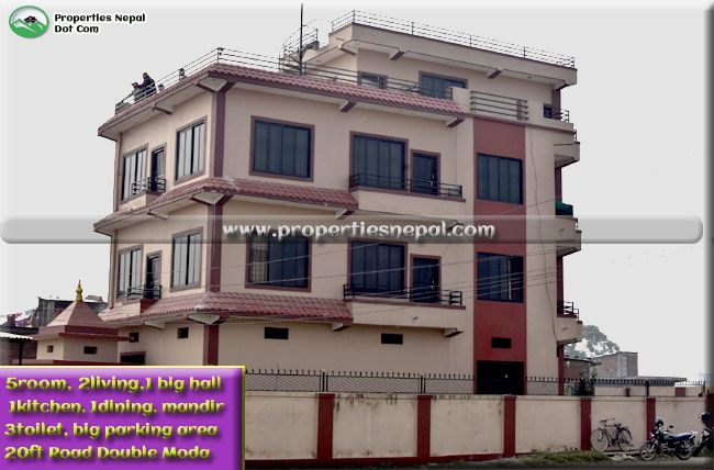 Featured3.5 Storey House For Sale In Bhalwari, Tilottama-7