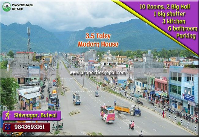 Featured3.5 Taley House For Sale In Shivnagar, Butwal, Nepal